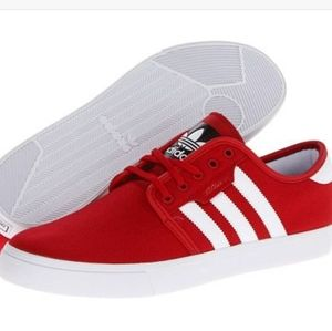 Adidas Seeley skate 9 red